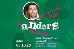 Andersmachen - der Innovationstalk am 5. Oktober